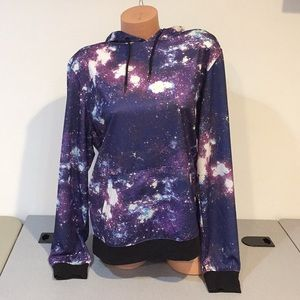 New with tags galaxy hoodie size medium